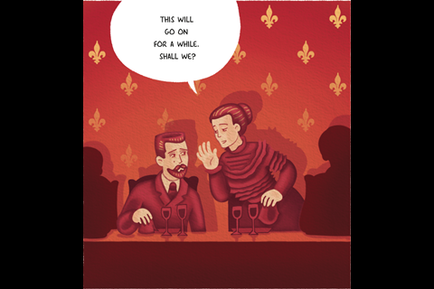IYPT Comic – Radium part 2 – Frame 8